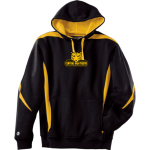 Black-Gold D-4 Wipeout Hoodie