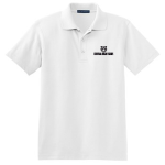 White Men's Silk Touch Interlock Polo